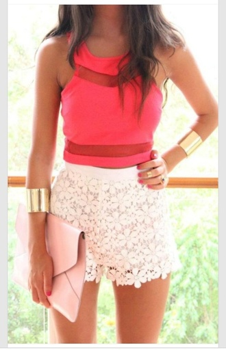 prom dress fashion top pink high low girly