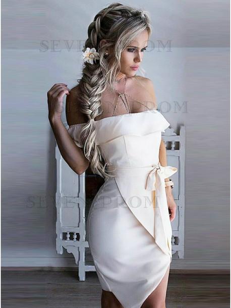 dress off the shoulder cocktail dress fashion