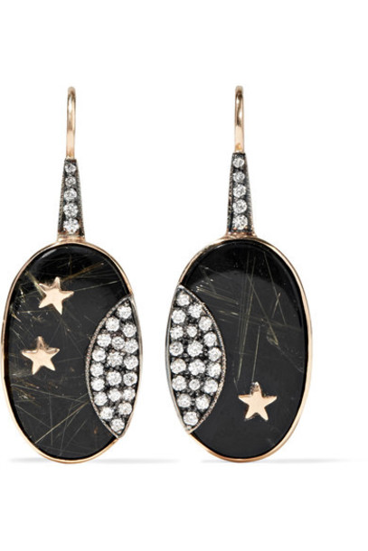 ANDREA FOHRMAN earrings gold jewels