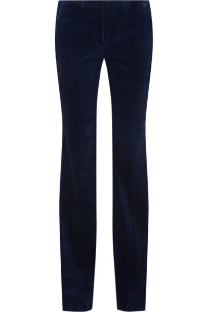 theory pants navy cotton