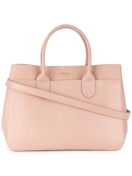 Furla women leather purple pink bag