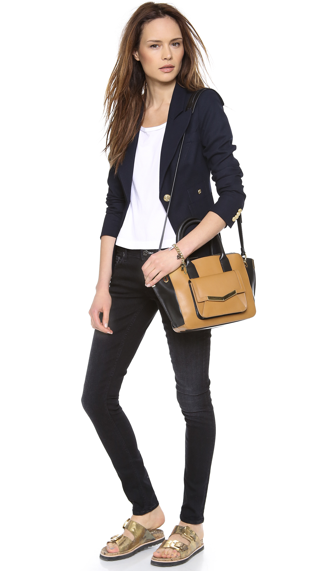 SMYTHE One Button Blazer | SHOPBOP