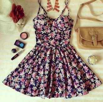 dress floral dress fashion