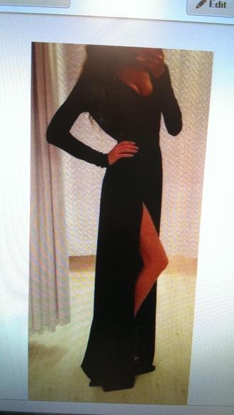 dress long dress sexy dress
