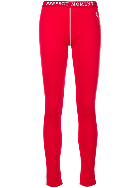 Perfect Moment women wool red pants