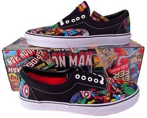 Vans Mighty Avengers Marvel Era Lo Skate Shoe Sneaker Iron Man Hulk Thor 0049974 | eBay