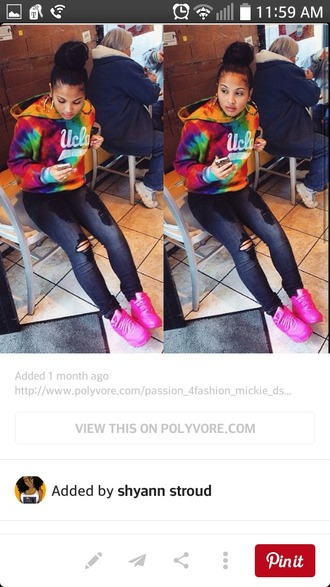 shoes nike shoes pink shoes sweater
