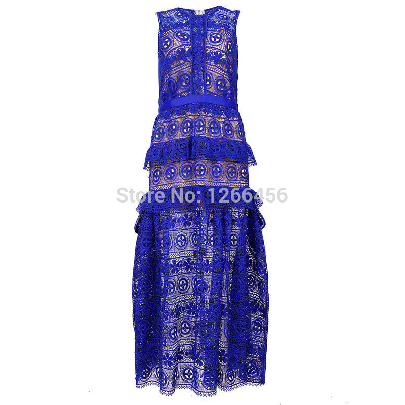 Aliexpress.com : Buy 2014 women Free shipping Fashion Blue lace round neck dressParty Dress MX123 from Reliable dresses for kids party suppliers on Lady Go Fashion Shop