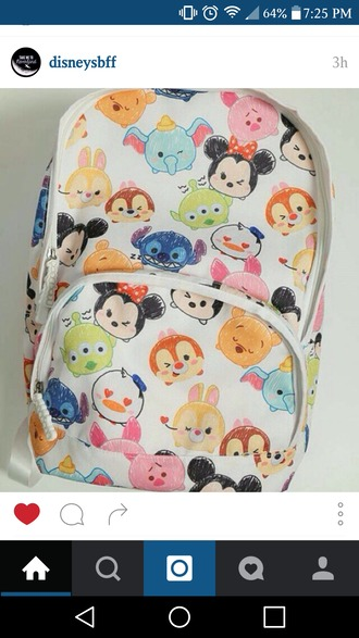 bag disney backpack cute i really want it