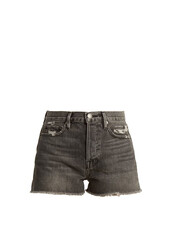 shorts,denim shorts,distressed denim shorts,denim,high,grey