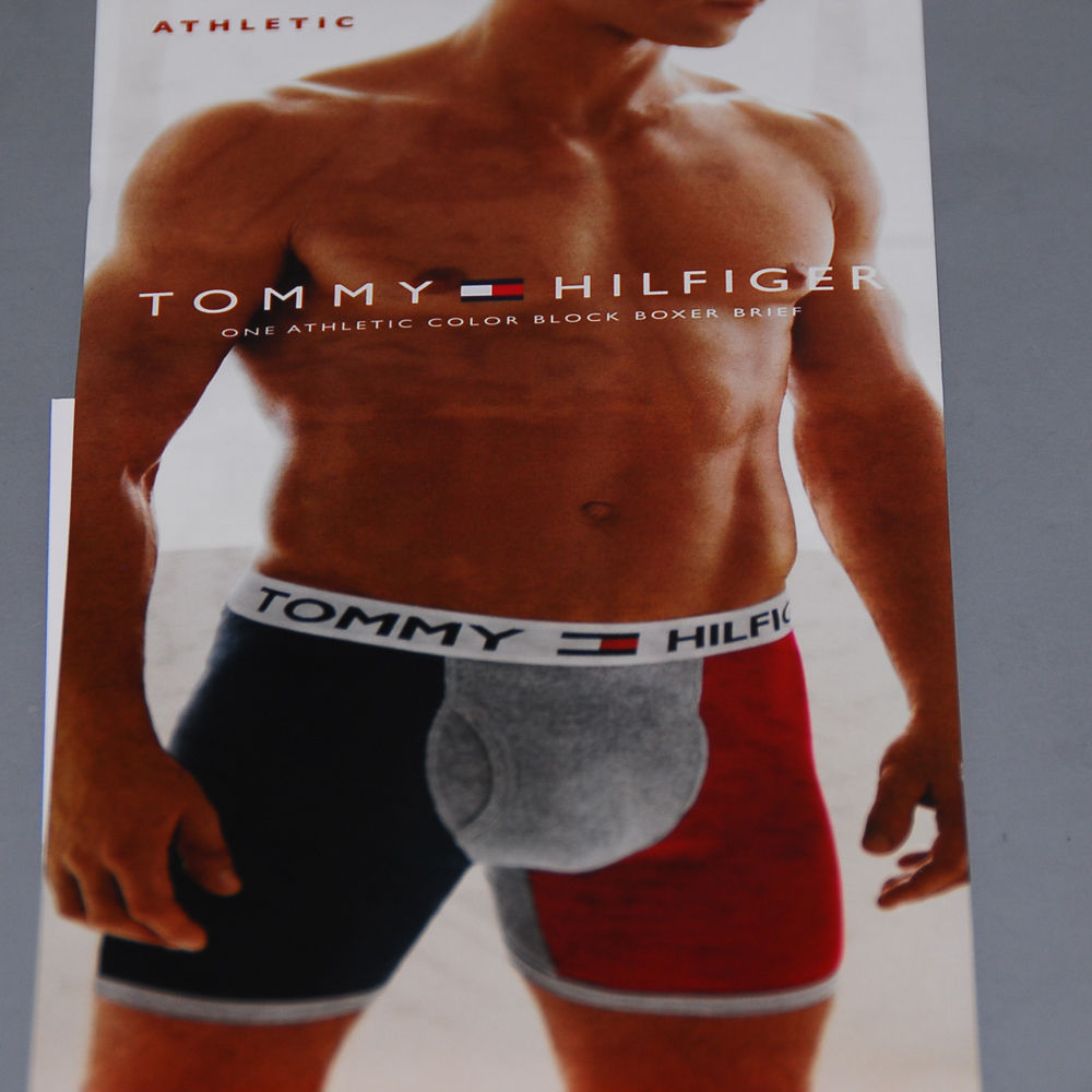 Nwt Tommy Hilfiger 1 Athletic Color Block Boxer Brief Underwear S M L Xl New Th