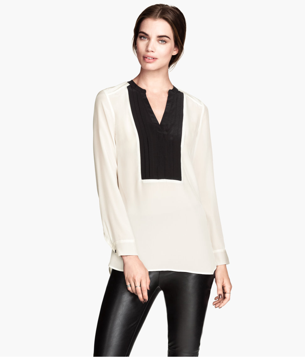H&M Silk blouse £39.99
