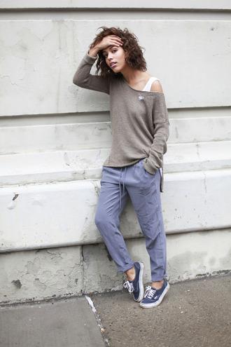 trop rouge sweater tank top pants shoes