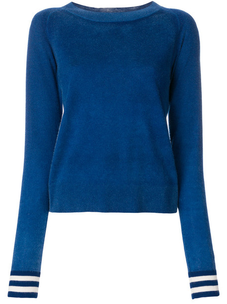Chinti & Parker jumper women blue sweater