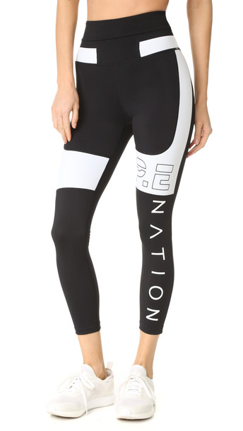 080234d05692b P.E Nation Roll Out Leggings - Black - Wheretoget