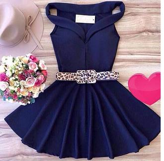 dress mini dress pleated dress navy