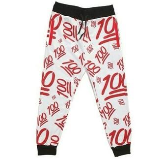 pants emoji pants emoji print fashion designer girl guys