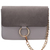 Grey Chain Ring Embellished Satchel Bag -SheIn(Sheinside)