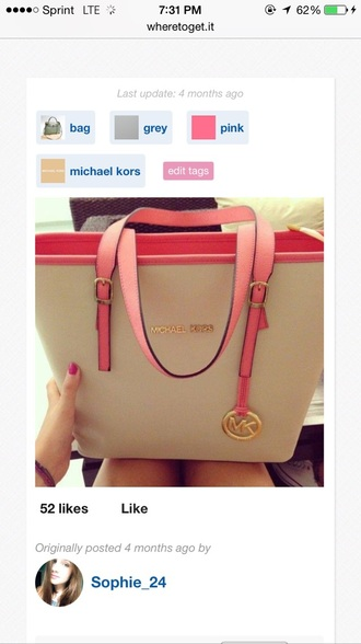 bag michael kors tote bag purse