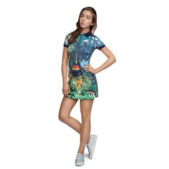 dress printed polo dress polo dress floral dress floral polo dress collared dress hipster style clothes fashion streetstyle streetwear