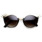 Lash is more oval shaped sunglasses at flyjane