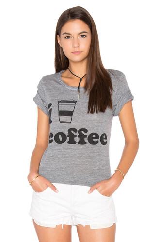 heart coffee grey