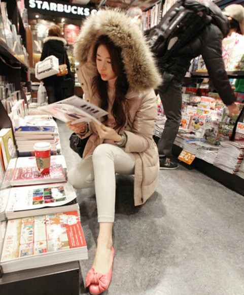 shopping shoes girly fashion model coat winter outfits outfits vintage fur fur coat high street style slim duck downjacket parka beauty fashion shopping 276884 lookbook