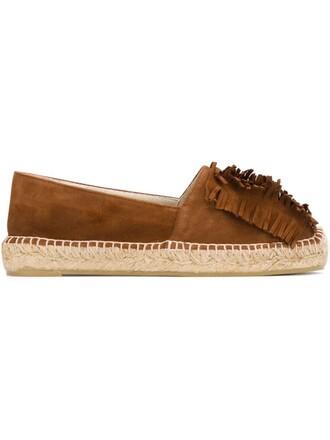 espadrilles brown shoes