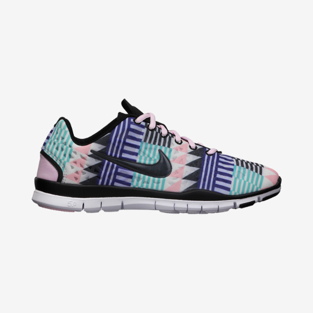nike free tr 3 print womens training shoe