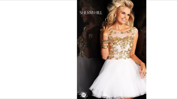 short beauty sherrihill dress prom dress prom dresses 2014