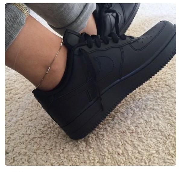 Black Matte Shoes Men