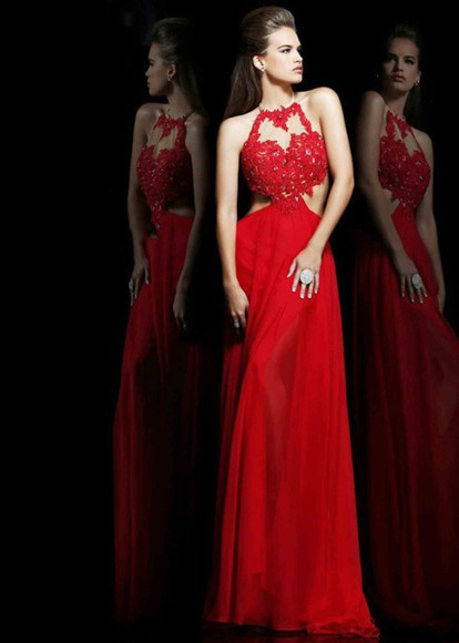 sexy dress fashion prom dress red dress sherri hill nude dress women buy