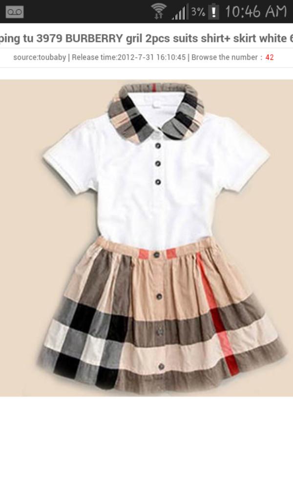 c4742c3a4005 Burberry Toddler Girls  Henley Dress