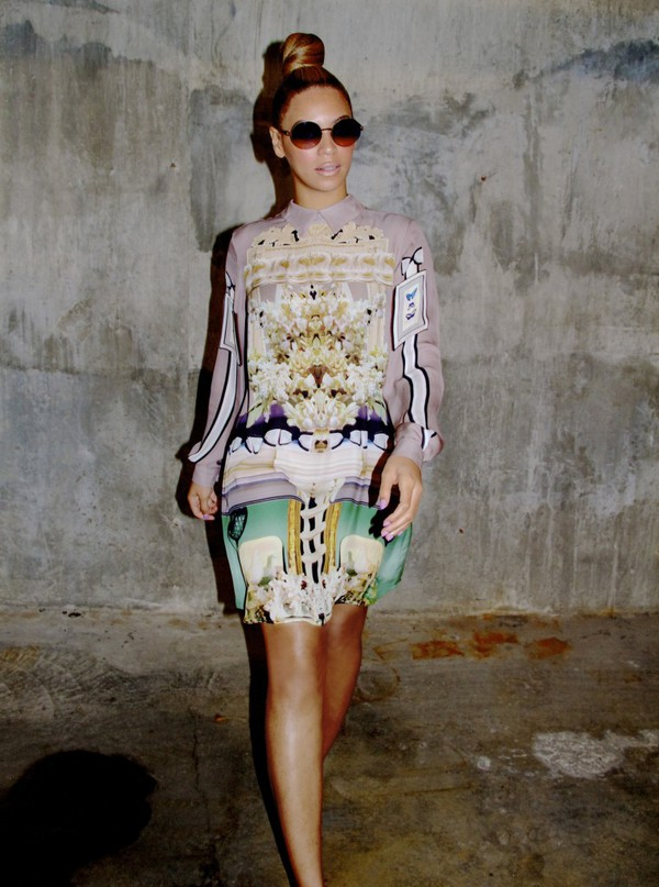 beyonce dress shirt dress printed dress long sleeve dress