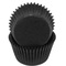 Black cupcake baking cup liners, 32 count by cupcake creations cupcake baking cup liners & petit four cups