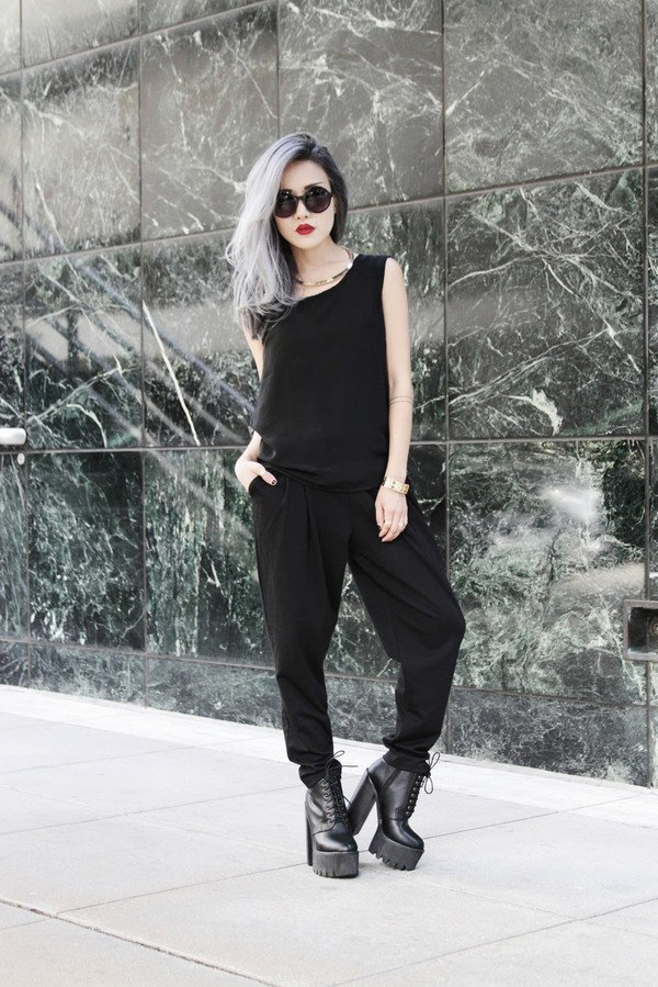 feral creature top pants t-shirt jewels shoes