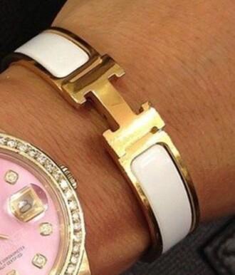 jewels hermes bracelet gold hermes