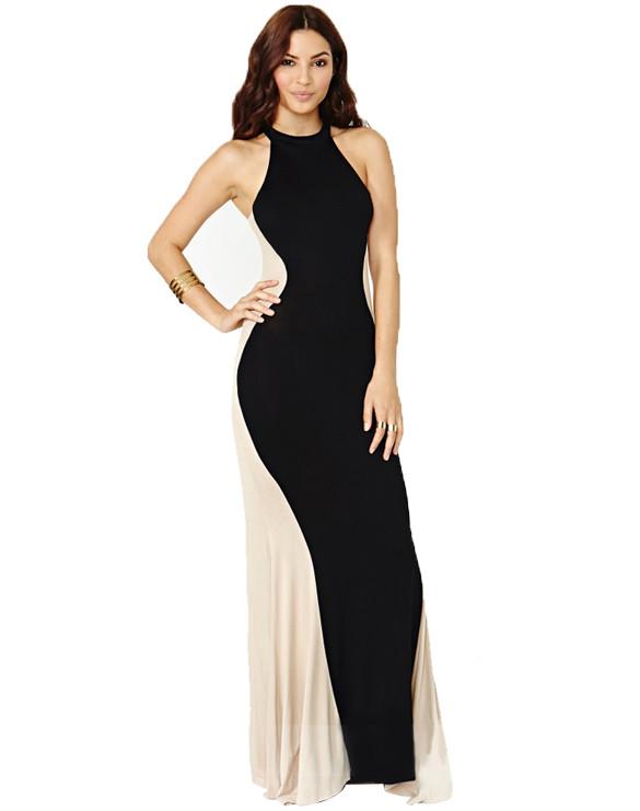 Lotus Chic Maxi Dress