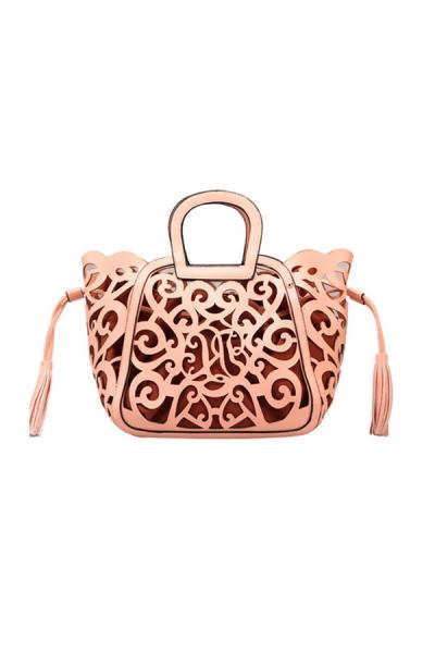 Fashion Floral Cutout Handbag [OA15027] - $45.00 : CHOSTH.COM
