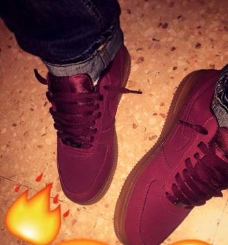 shoes nike marron nike