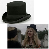 hat,american horror story,coven,top hat