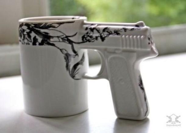 dress mug gun black bikini