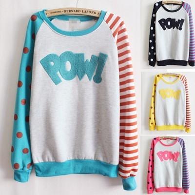 AWESOME FUNKY POW SWEATER from StylenDemand | Square Market
