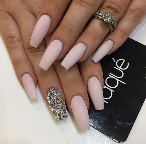 Nail Accessories Nails Acrylic Nude Tumblr Girl Art
