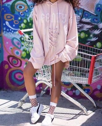 sweater fenty x puma rihanna hoodie oversized