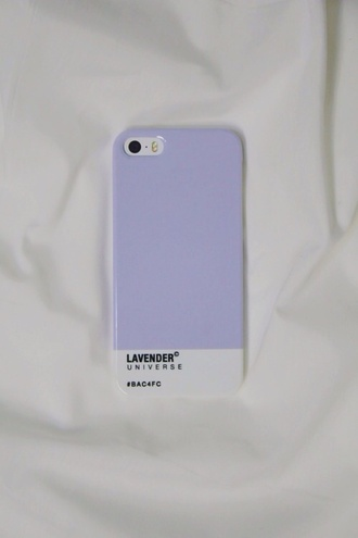 phone case pantone lavender soft indie grunge soft grunge aesthetic tumblr pale iphone 5 case minimalist
