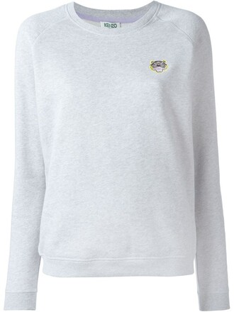 sweatshirt mini tiger grey sweater