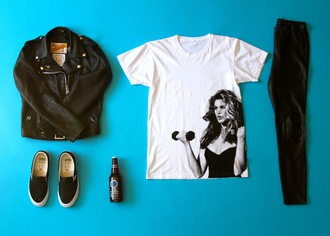 sweat the style jacket shoes t-shirt leather jacket vans