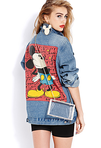 Standout Mickey Denim Jacket | FOREVER21 - 2000065924