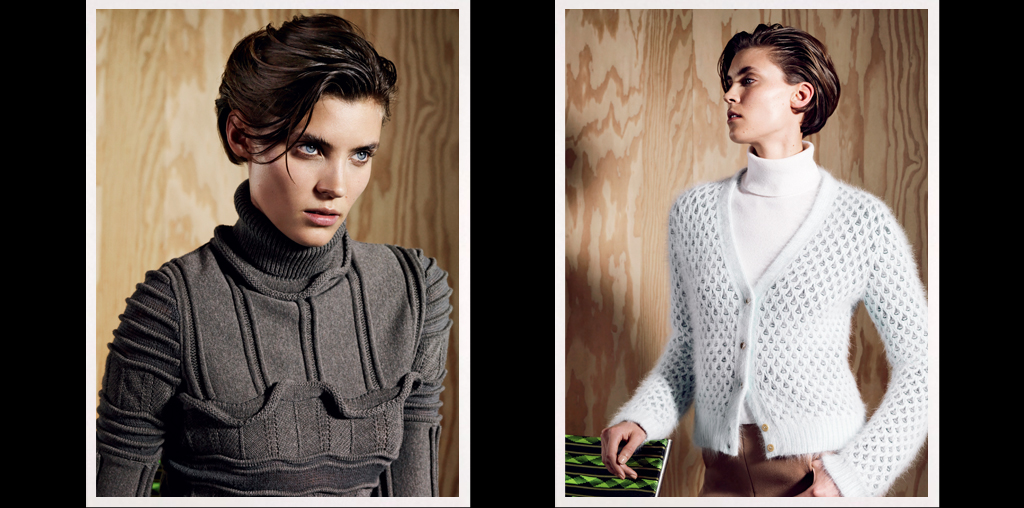 Scottish Cashmere Sweaters, Jumpers - Pringle of Scotland Online Store